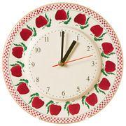 Kitchen Clock Apple
