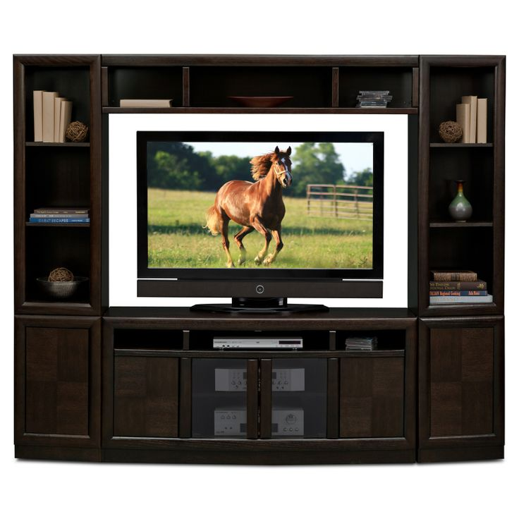 American Signature Furniture   Townhouse Entertainment Wall Units 4 Pcu2026
