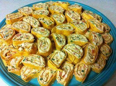 Enchilada roll ups