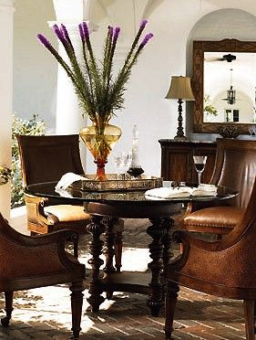 Hemingway Dining Table West Indies StyleBritish Colonial