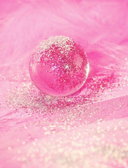 Pink Sparkle Bubble