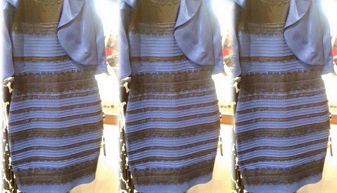 Vestito blu e nero o bianco e oro yahoo