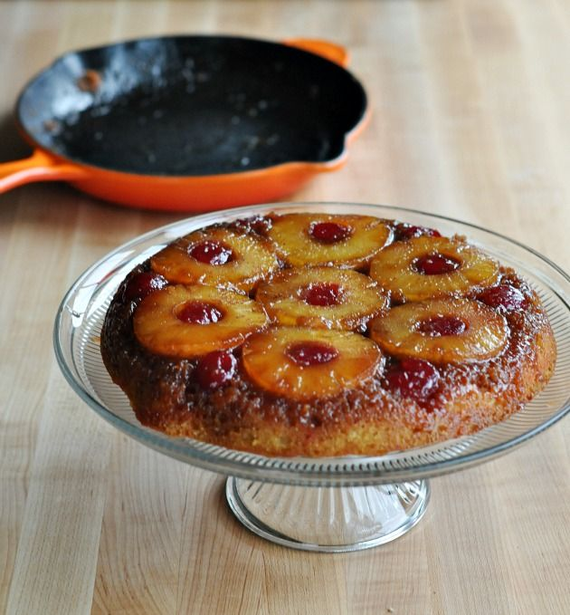 The Perfect Rainy Day Pineapple Upside Down Cast Iron Skillet Cake