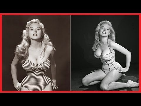25 PHOTOS OF BETTY BROSMER, the Girl with the Impossible Waist - YouTube