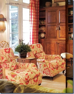 82 best floral traditional patterns images on pinterest - Floral country living room furniture ...