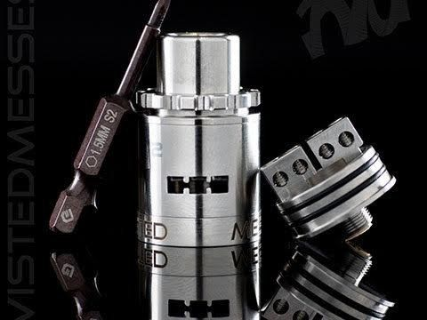 Twisted Messes RDA² (TMSquared)The Twisted Messes RDA² (TMSquared) features a two-post design with 4 individual post holes. Each post hole is 2.8mm in diameter accommodating any build you can throw at it. The split-post design allows for a dramatic increase in coil installation versatility.#Vape #eliquid #vapelife #vapor #eciggarette #vapeporn #e-liquid #vapelyfe #ejuice #RDA #coilporn #buildlife