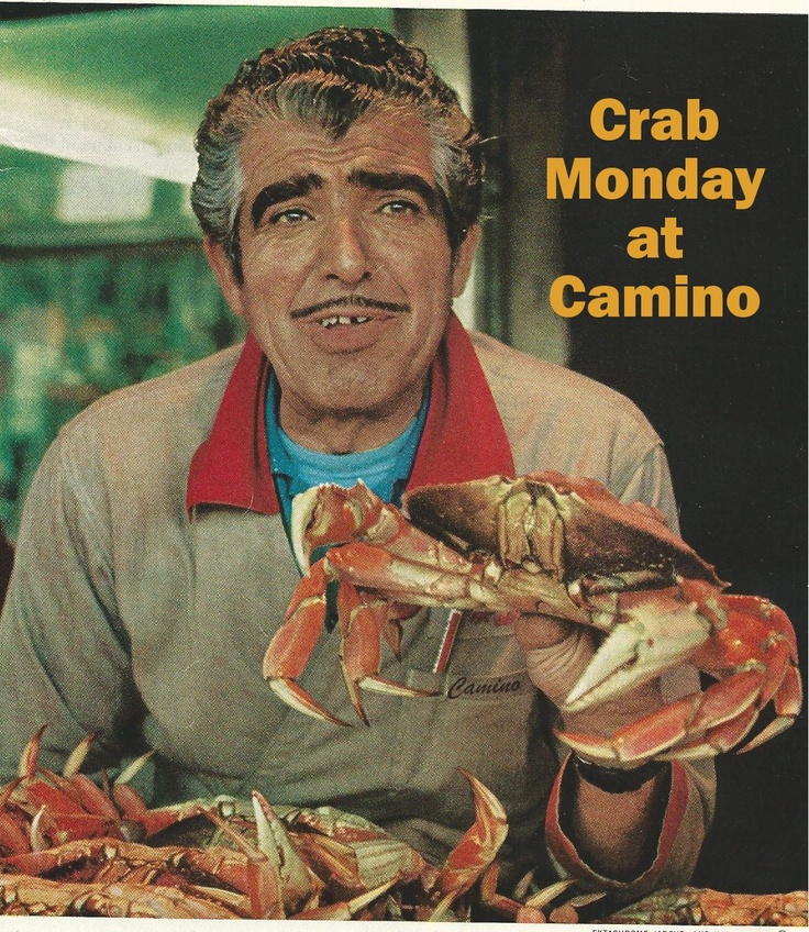 Camino Restaurant    Trying for brunch today. Hope the crab is on the menu