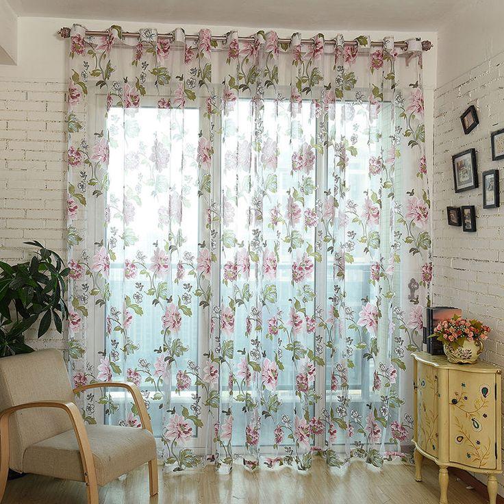 Die besten 25+ Fenster sheers Ideen auf Pinterest Gardinenring - wandfarben f amp uuml r schlafzimmer