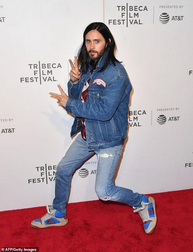 Jared Leto Rocks Casually Comfortable Look At Tribeca Film Festival Jared Leto Tribeca Film Festival Jared