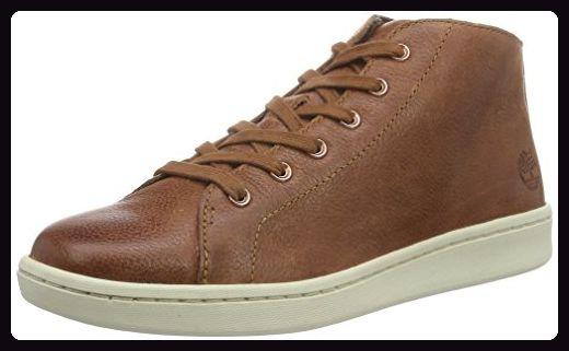 Timberland Damen Dashiell_Dashiell_Dashiell Chukka High-Top, Braun (Cognac Woodlands Full Grain), 41.5 EU - Sneakers für frauen (*Partner-Link)