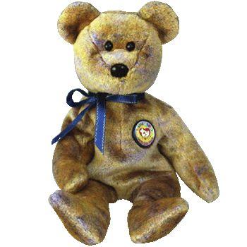 Ty Beanie Babies 2000 Clubby III Collector Bear Retired