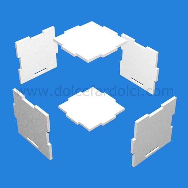 Sono arrivate le scatole porta torta in polistirolo smontabile isolante, perfette per trasportare le vostre torte durante il periodo estivo www.dolcefardolci.com