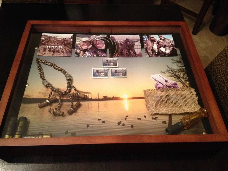 Duck Hunting Shadow Box Want Pinterest Boxes Ducks