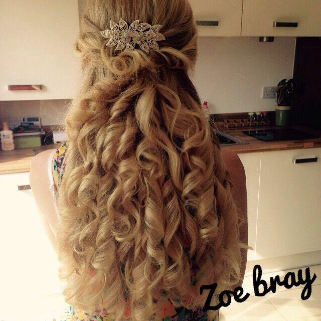 Hair up Prom Bridal