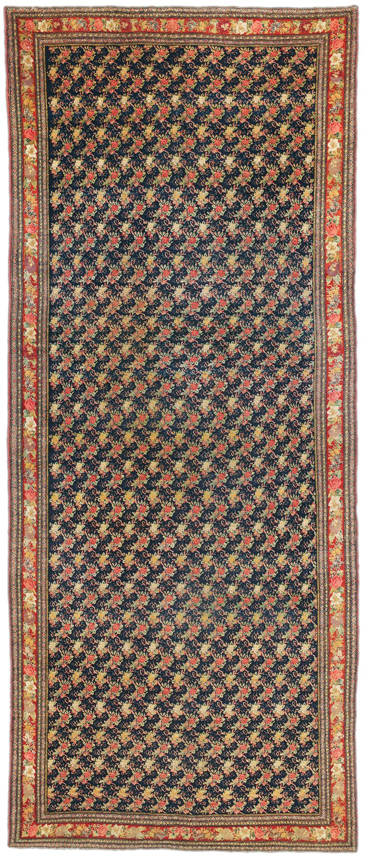 Bidjar gallery rug, 19th C (3rd Q)