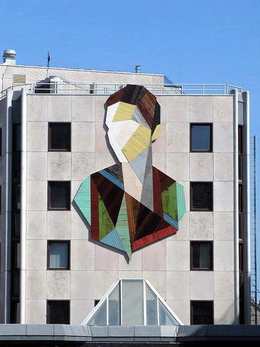 the Crystal Ship - street art festival - Ostend - Belgium by _Kriebel_