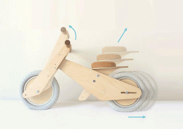 B'kid - The Growing Balance Bike