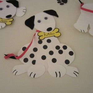Put spots on the Dalmatian activity - plus 6 more activities for a fun fire truck party!