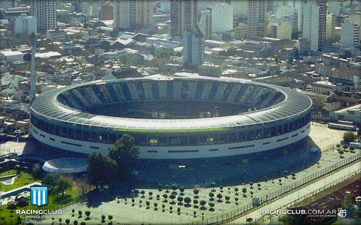 Estadio Presidente Perón . Racing Club . Avellaneda Centro , Partido de Avellaneda , Provincia de Buenos Aires