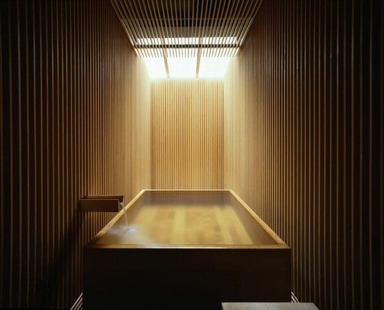 justthedesign: Bathroom, GINZAN ONSEN FUJIYA, ByKengo Kuma And Associates