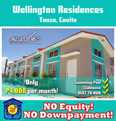 Find Rent Houses: Wellington Residences Tanza Cavite No Down Payment! No