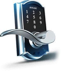 Keyless Entry Door Knobs, Door Locks & Hardware   Schlage.  This will be our next front door lock!