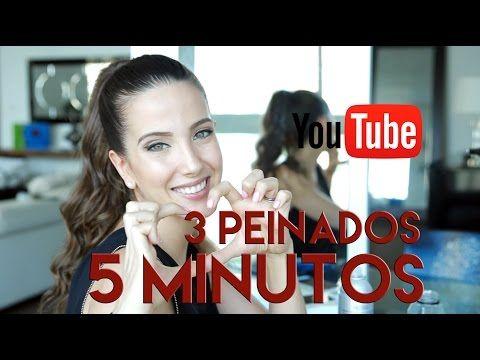 4 Peinados con Trenzas en solo 5 Minutos!! Bellos y Sencillos!! - YouTube