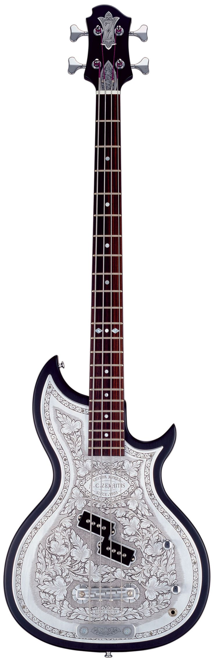 ZEMAITIS BMF-DCP Metal Front™ Black Bass