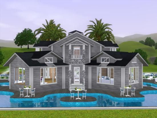 22 Best Images About Sims House Ideas On Pinterest
