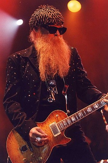Billy Gibbons - ZZ Top, gotta love the beard