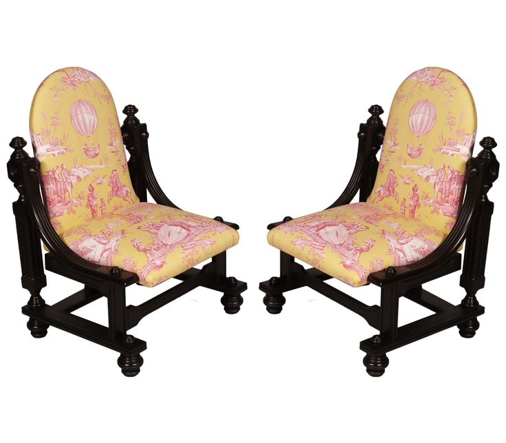 mid century modern italian pair of chairs