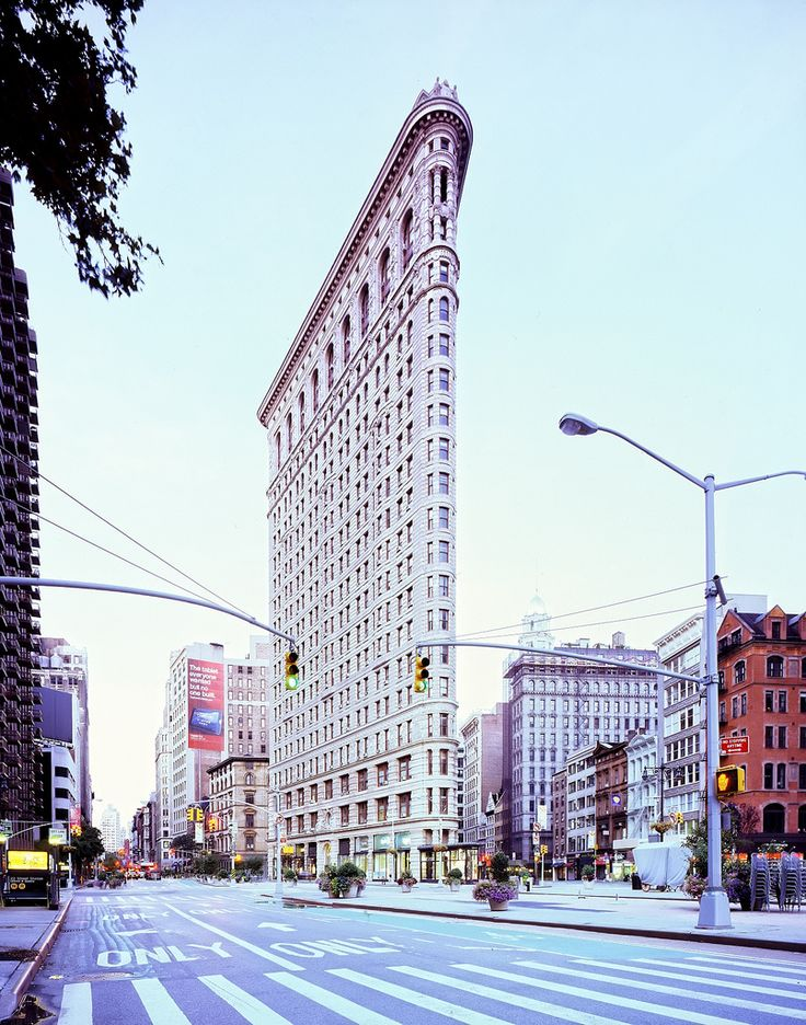 Famous Flatiron Building in New York City!