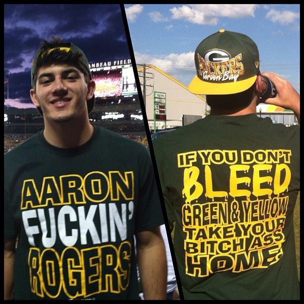 Funny Green Bay Packer Shirts