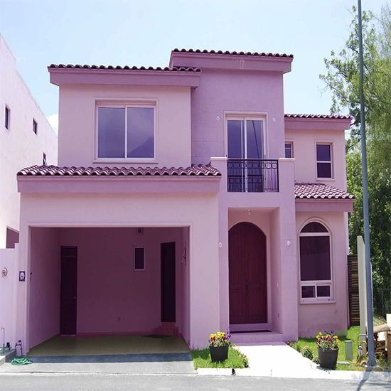 Las 25 mejores ideas sobre casas pintadas exterior en for Colores para techos de casas