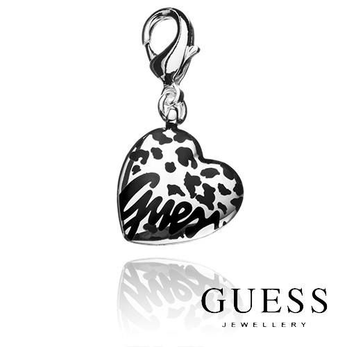 GUESS Charm - How about this for a purrfect addition to your charm bracelet- Silver Heart Leopard GUESS Charm. Get yours for only $29.97 by visiting http://www.sparkly.com.au/brands/guess-jewellery/guess-charm.html. Also comes with a branded white GUESS Logo Pouch & 1 Year Replacement Warranty.