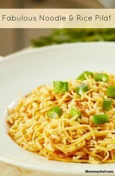 You are going to lov You are going to love this delicious noodle...  You are going to lov You are going to love this delicious noodle and rice pilaf recipe. A great recipe if you want to impress with a new side dish. Recipe : http://ift.tt/1hGiZgA And @ItsNutella  http://ift.tt/2v8iUYW