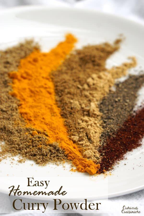 Simple Homemade Curry Powder Recipe Homemade Curry Homemade Curry Powder Curry Spices