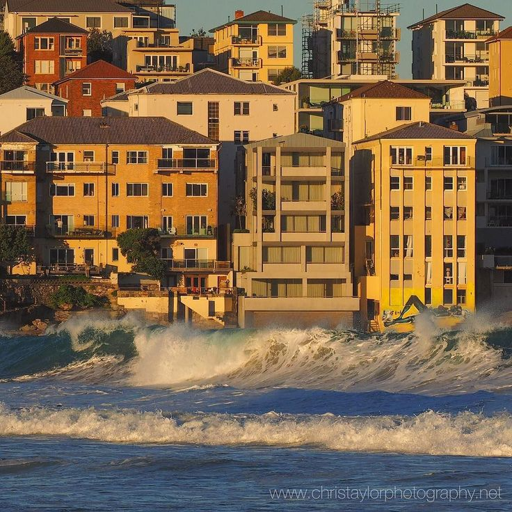 (Loc) Posted on May 25 2016 at 08:52AM: Another perspective of 'the golden hour' at Bondi Beach Sydney last night. I took this photo from the other end of the beach (which is quite a distance) using an Olympus 40-150mm f/2.8 lens fitted with the Olympus MC-14 1.4x teleconverter designed for this lens. Im very pleased with the new potential this teleconverter will add to my photography. Bought it in Perth & had it delivered to Sydney while I'm here. Over 50% less cost than I can currently…
