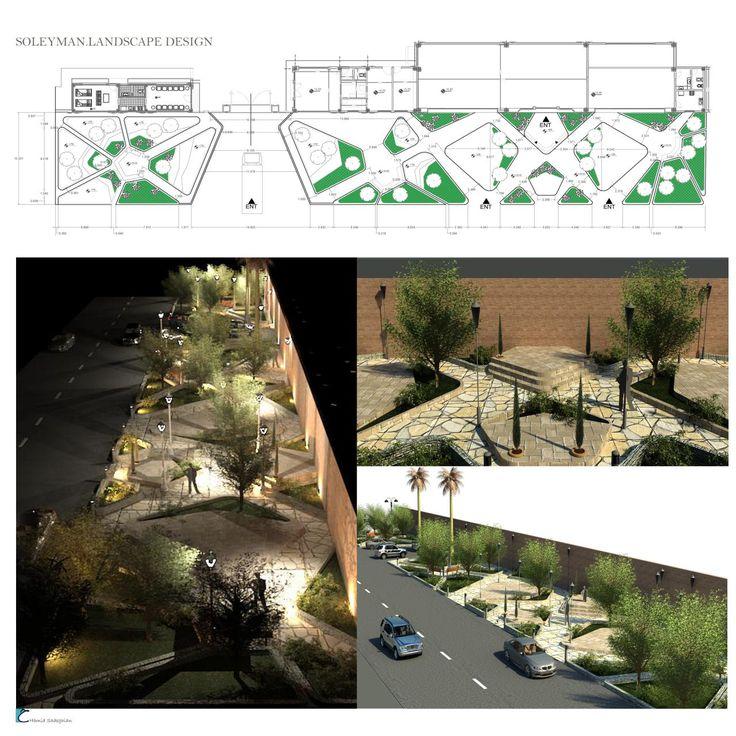 Landscape design  Designer: hamid sadeghian