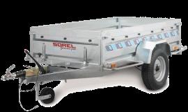 Wolder Remolque profesional · Gama Profesional con freno Gran remolque  Remolques profesionales con freno con diferentes potencias de eje dependiendo de la necesidad de carga.