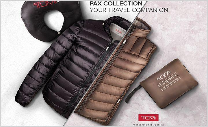 투미 '팍스 베스트(PAX Vest)' 선보여