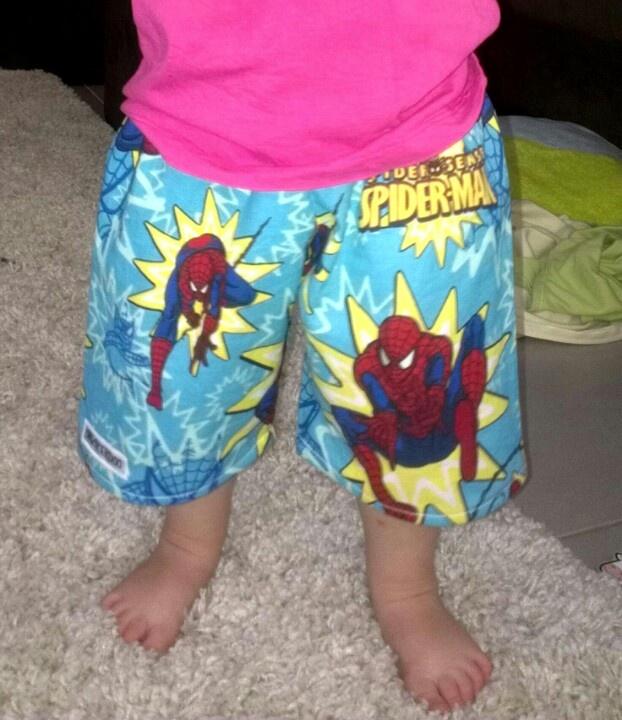 Spiderman shorts $20.00