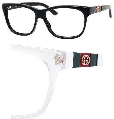 GUCCI Eyeglasses 3543 05L0 White 55MM Gucci. $164.81