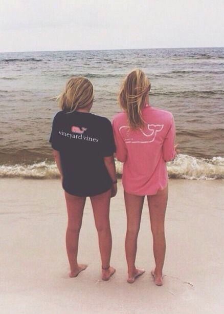 Vineyard Vines, Beach & Best friends
