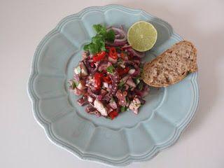 Jak vařím doma: Salát z chobotnice