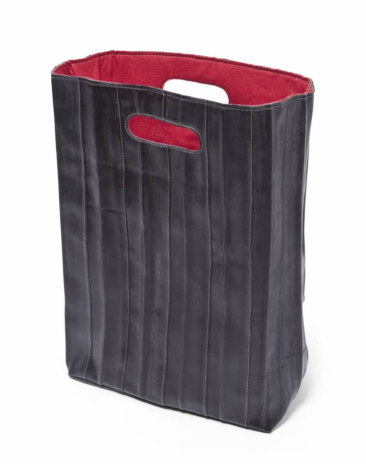 Bag of recycled inner tubes - Mensch Made Eco Bag