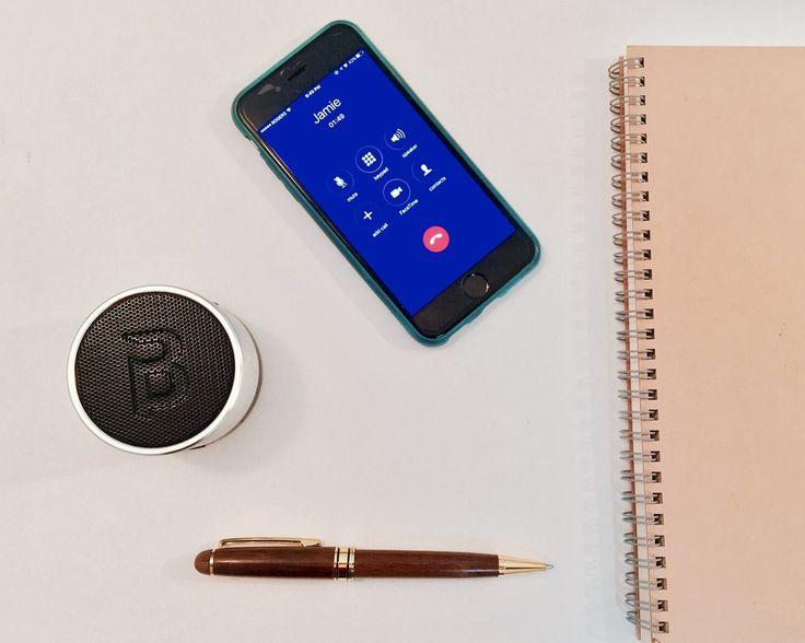 Blue Piston Speaker— Thinking Out Loud Blue Piston Header - LOGiX #Speaker #Tech #BluePiston #GiftGuide #Holidays #Christmas #RosaliPeccia