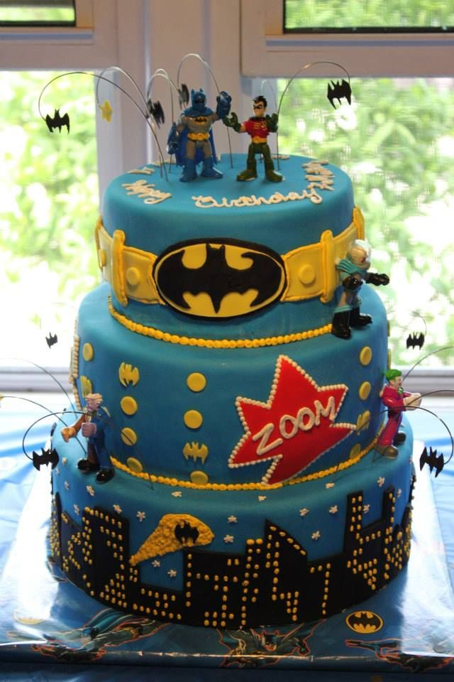 Batman cake for my nephews-2013.