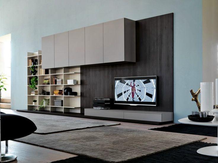 más de 25 ideas increíbles sobre montaje de tv en pinterest ... - Muebles De Herreria Para Tv