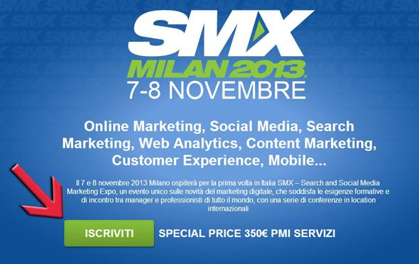 Con PMI Servizi sconto per l'SMX #Milano del 7-8 novembre